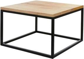 Oskar tafel zwart maat: 60 x 60 x 38cm