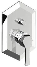 Cisal Cherie inbouw badmengkraan met omsteller CE00210021 Chroom
