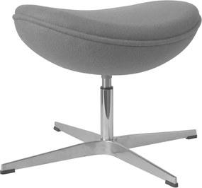 Egg chair voetenbank / hocker - Grijs