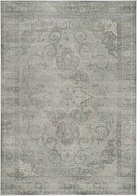 Safavieh   Vintage vloerkleed Charlotte 100 x 170 cm zilverkleurig vloerkleden viscose, katoen, polyester vloerkleden &   NADUVI outlet