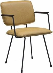 Eetkamerstoel Leder of Stof Totti Chair (arm)
