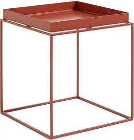 Hay Tray Table salontafel rood medium 40x40