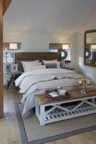 Rivièra Maison Beddengoed | Dekbedovertrekset Lofty Weave tweepersoons: breedte 200 cm x lengte 200/220 cm + naturel dekbedovertrekke | NADUVI outlet