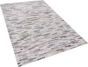Vloerkleed grijs 140 x 200 cm AHILLI