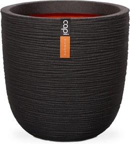 Pot bol rib NL 54x52 - zwart