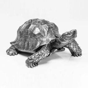 Kare Design Turtle Silver Zilveren Deco Schildpad Large
