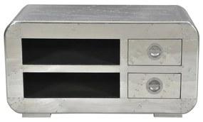Tv-meubel Aluminium 100 Cm - 100x45x50cm.