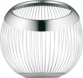 WMF | Fruitmand lounge 19 x 19 cm zilverkleurig fruitschalen roestvrij staal koken & tafelen keukenaccessoires | NADUVI outlet