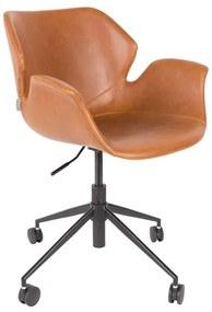 Zuiver Nikki Office Bruine Bureaustoel