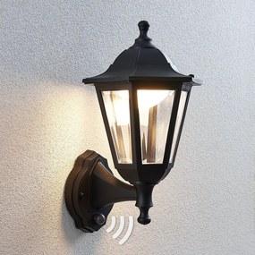 LED buiten wandlantaarn Iavo met sensor - lampen-24