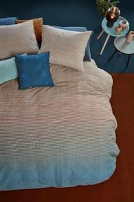 Beddinghouse | Dekbedovertrekset Marmor lits-jumeaux: breedte 240 cm x lengte 200/220 cm + blauw dekbedovertrekken katoen | NADUVI outlet