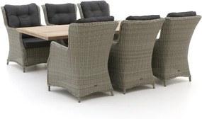 Intenso Milano/Montorio 220cm lounge-dining tuinset 7-delig - Laagste prijsgarantie!