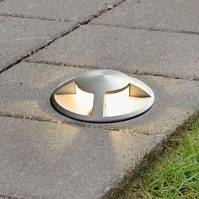 LED grondspot inbouwlamp Anina van aluminium