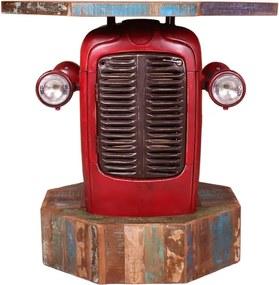 Ludieke Bartafel Tractorgril - 120 X 120cm.