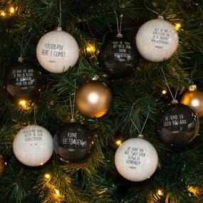 #DARUM! #DARUM! Kerstballen - Set van 8
