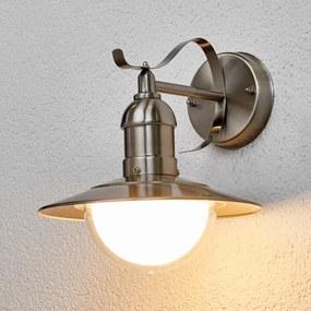 Clea - LED-buitenwandlamp van roestvrij staal - lampen-24