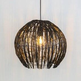 Cocoon hanglamp zwart