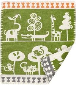 Knuffeldoekje groen, katoen Serengeti