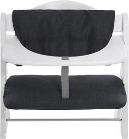 Kinderstoelkussen Deluxe Melange - Charcoal - Kinderstoelen