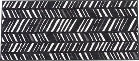 NERO Loper zwart B 67 x L 150 cm