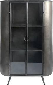 By-Boo Mash Industriele Metalen Hoge Wandkast - 91x38x160.5cm.