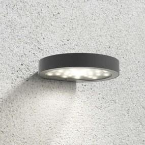 LED solar buitenwandlamp