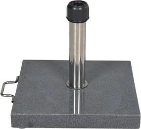 Parasolvoet Cosmo 40 kg graniet donker grijs