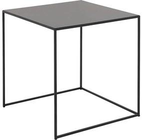 Goossens Bijzettafel Filas, metaal zwart, elegant chic, 50 x 50 x 50 cm
