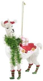 Kerstbal - alpaca