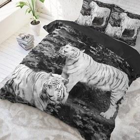 DreamHouse Bedding Tigers Lits-jumeaux (240 x 220 cm + 2 kussenslopen) Dekbedovertrek