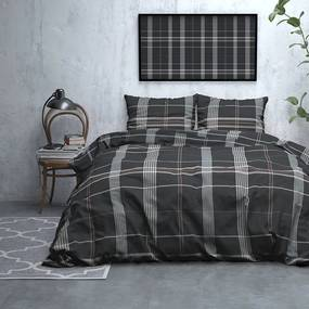 DreamHouse Bedding Wayne - Verwarmend Flanel - Taupe 2-persoons (200 x 200/220 cm + 2 kussenslopen) Dekbedovertrek