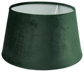 Lampenkap velvet - groen - ø33 cm