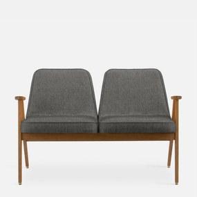 366 Concept   Bank Loft lengte 118 cm x diepte 66 cm x hoogte 75 cm mosterdgeel, light oak zitbanken stof meubels banken   NADUVI outlet