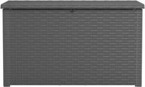 Opbergbox Java 870 L rattan-look antraciet
