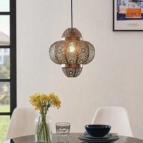 Darlia metalen hanglamp in brons - lampen-24
