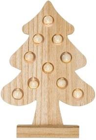 Houten LED-kerstdecoratie Kerstboom