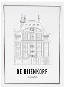 WIJCK Amsterdam de Bijenkorf print