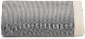 Sprei / grand foulard donkergrijs Diamant, katoen, 195-300 cm