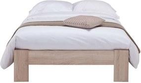Bed Sydney - eikenkleur - 120x200 cm - Leen Bakker