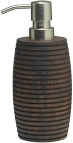 Zeepdispenser Sealskin Native Hout Bruin 7.6x18.5cm