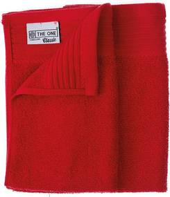 The One Towelling 2-PACK: Gastendoekjes Classic -30 x 50 cm - Red