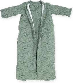 Baby Slaapzak 4 Seizoenen 110cm - Whales - Ash Green - Beddengoed