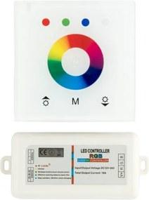 LED Touch Wifi Dimmer 3x6A 12V-24V, Wit