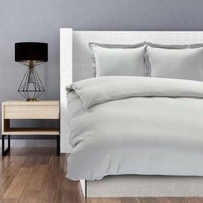 Hotel Home London - Zilver Grijs Lits-jumeaux (240 x 200/220 cm + 2 kussenslopen) Dekbedovertrek