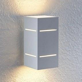 Sita wandlamp, aluminium, wit - lampen-24