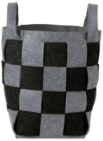 Sealskin Weave Wasmand Vilt Zwart 361982019