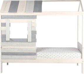 Bln Kids bed Coyote - grijs - 181,5x102x202,6 cm - Leen Bakker