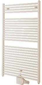 Zehnder Toga handdoekradiator 176x50cm 928watt Staal Wit glans TO-180-050-V