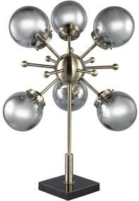 Goossens Tafellamp Amo, Tafellamp met 6 lichtpunten