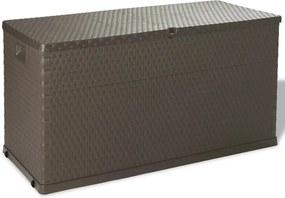 Tuinbox 120x56x63 cm bruin